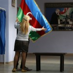 Three journalists arrested before Azerbaijan's presidential election