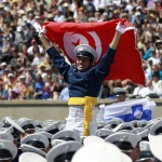 Journalist demonstrator injured by Tunisian press official
