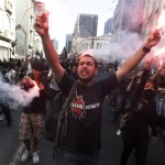 Police attack reporters during riots in Brazil