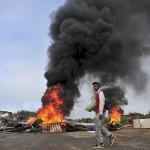Gunmen burned down community radio station