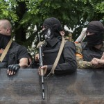 Three journalists detained by Ukrainian rebels