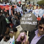 Three killed in attack on Pakistani news agency