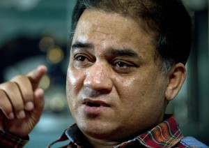 Outspoken Uighur scholar Ilham Tohti, pictured in 2013, was sentenced to life in prison by a Chinese court for 'separatism' in September.