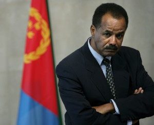 Eritrean President Isaias Afewerki led his rebels into Asmara in 1991 and has remained in power ever since. (EPA/Olivier Hoslet)