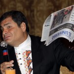 Ecuador press freedom in rapid decline
