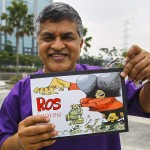 Malaysia seizes books by critical cartoonist