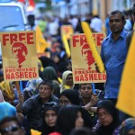Maldives arrests three journalists covering protests