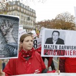 Syrian free speech activist Darwish faces terrorism hearing