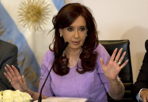 After Nisman's death, President Cristina Fernandez accused the prosecutor of conspiring against her. (AP Photo/Rodrigo Abd, File)