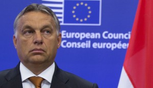 Hungarian Prime Minister Viktor Orban pictured in Brussels, Sept. 3, 2015. (AP Photo/Virginia Mayo)