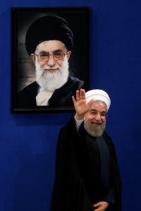 Iran's President Hassan Rouhani has made only halting progress in improving Iran's media environment. (AP Photo/Ebrahim Noroozi)