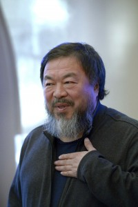 Dejun's work gained attention after Chinese artist Ai Weiwei, pictured here, made a documentary about him. (Janerik Henriksson / TT News Agency via AP)