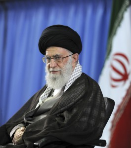 Supreme Leader Ayatollah Ali Khamenei in Tehran, Iran. (Office of the Iranian Supreme Leader via AP)