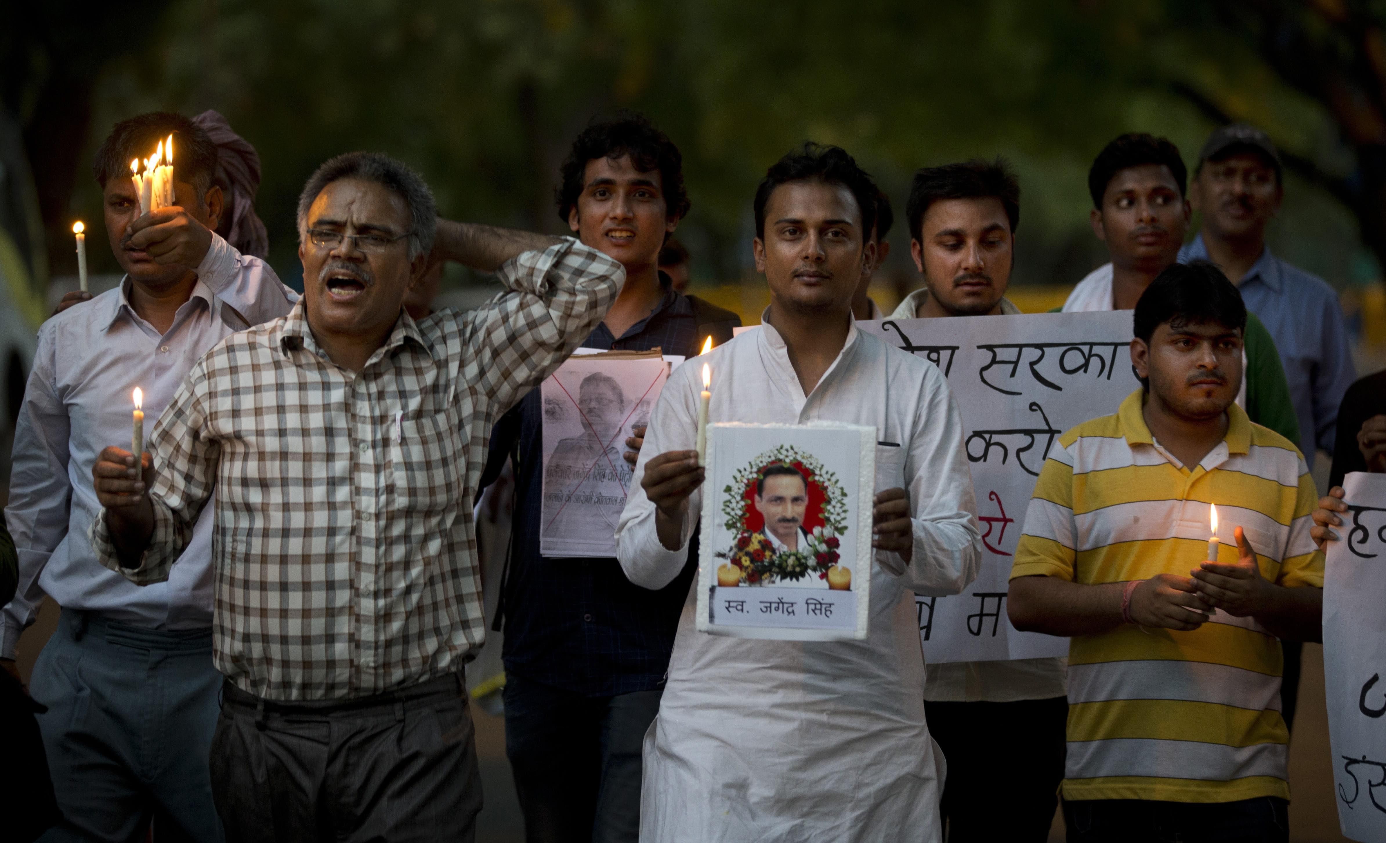 Third Indian journalist in a year killed in Uttar Pradesh