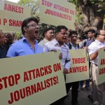 Indian reporter arrested in school reporting fracas
