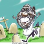Kenyan cartoonist optimistic despite censorship, tension