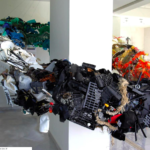 Turning ocean garbage into advocacy art